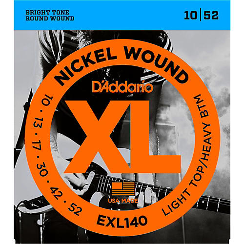 D'Addario EXL140 Nickel Light Top/Heavy Bottom Electric Guitar Strings thumbnail