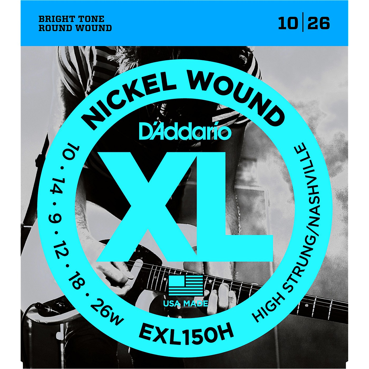 D'Addario EXL150H High-Strung Guitar Strings thumbnail