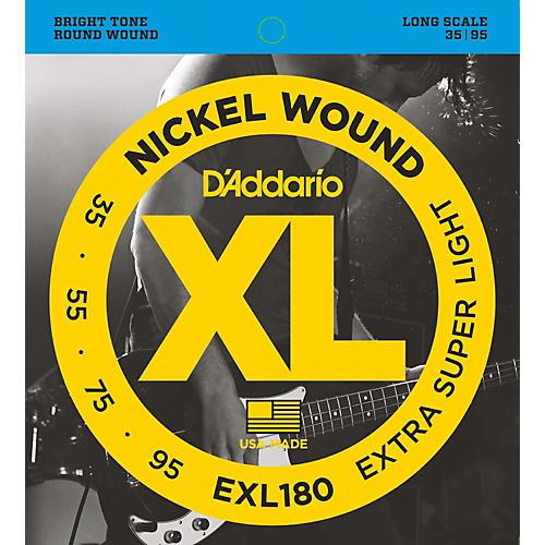 D'Addario EXL180 XL Extra Super Soft/Long Bass Strings thumbnail