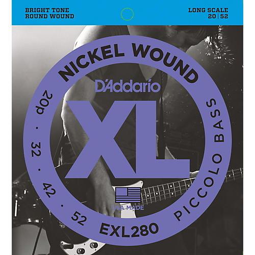 D'Addario EXL280 XL Piccolo Bass Regular/Long String Set thumbnail