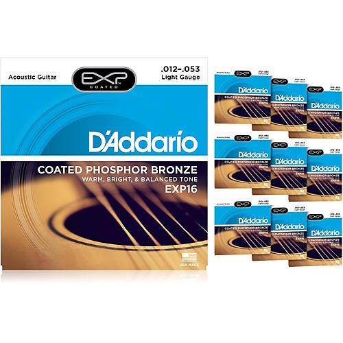 D'Addario EXP16 Acoustic Strings 10-Pack thumbnail
