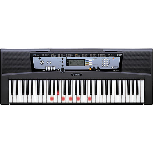 Yamaha EZ 200 AD Portable Keyboards with Lights and Adapter thumbnail