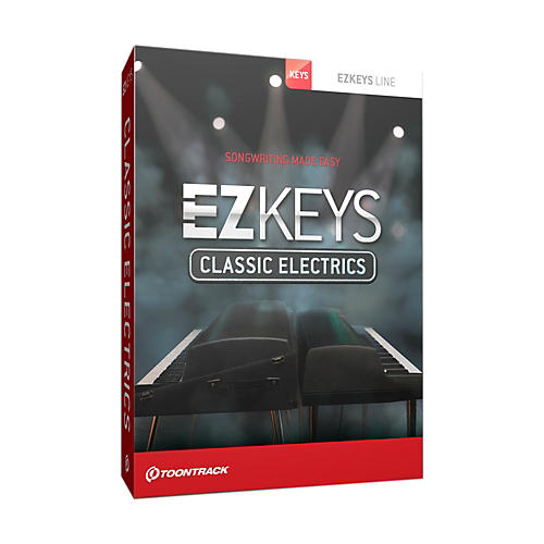 Toontrack EZ Keys Classic Electrics Software Download thumbnail