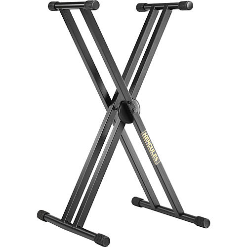 Hercules Stands EZ Lok Double Keyboard Stand thumbnail
