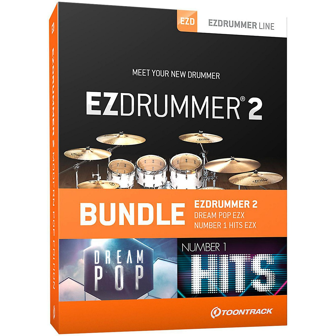 Toontrack EZDrummer 2 Modern Pop Edition thumbnail