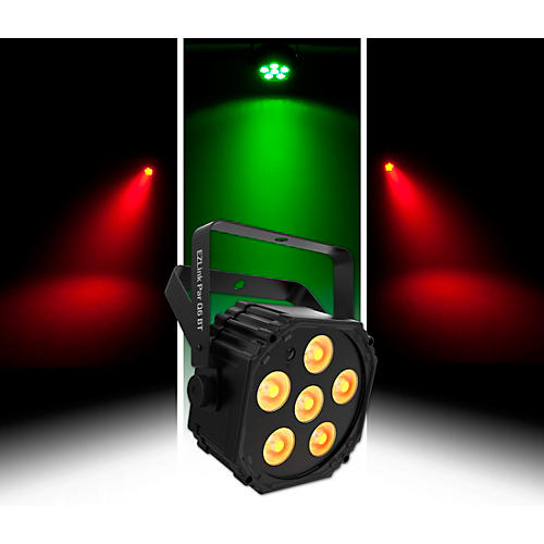 CHAUVET DJ EZLink Par Q6 BT Wireless RGBA LED Wash Light with Bluetooth thumbnail