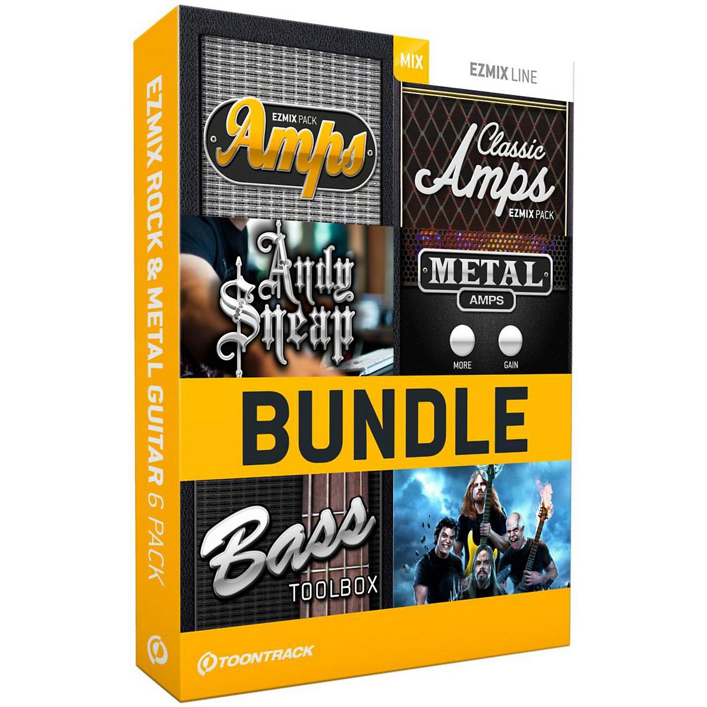 Toontrack EZmix 2 Rock & Metal Guitar 6 Pack Software Download thumbnail