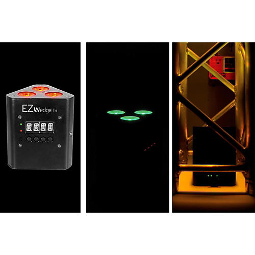 CHAUVET DJ EZwedge Tri Battery-Operated Tri-Color LED Wash/Stage Light thumbnail
