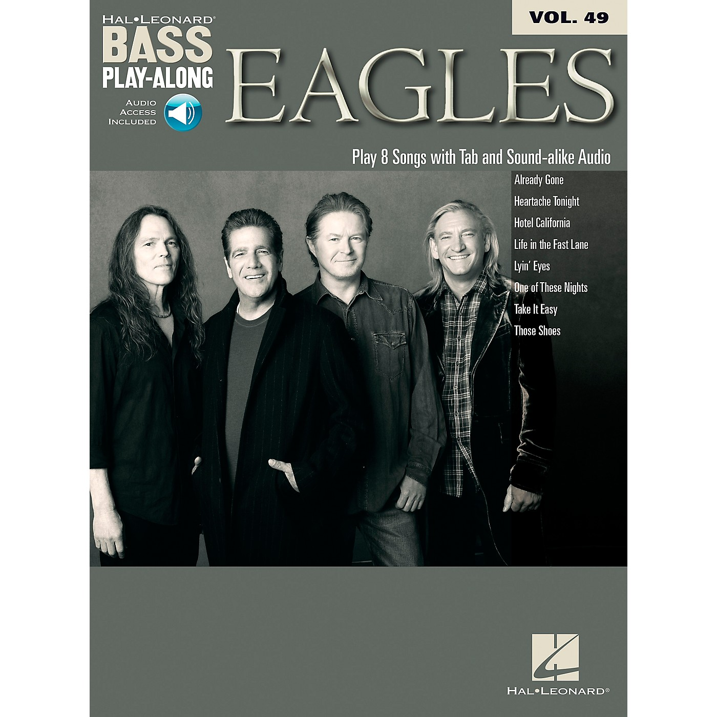 Hal Leonard Eagles - Bass Play-Along Vol. 49 Book/CD thumbnail