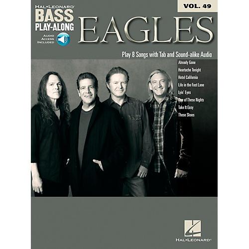 Hal Leonard Eagles - Bass Play-Along Vol. 49 Book/CD thumbnail