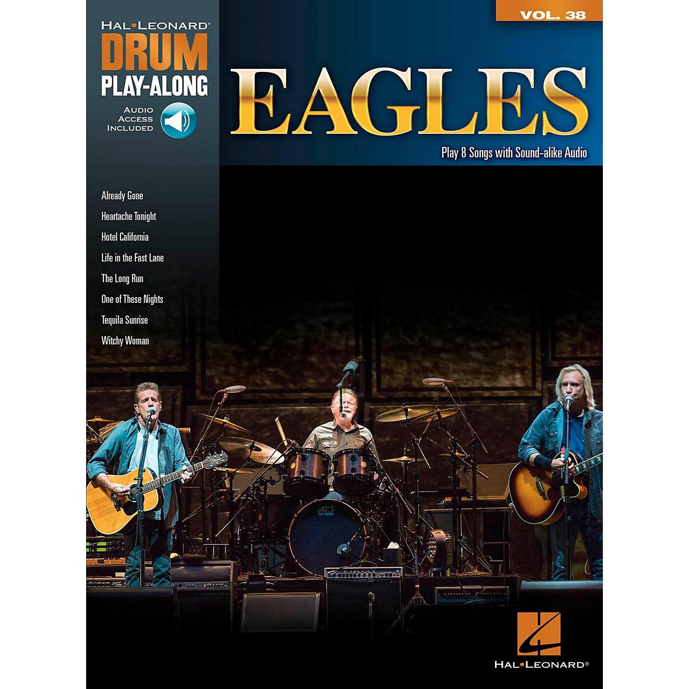 Hal Leonard Eagles - Drum Play-Along Volume 38 (Book/Online Audio) thumbnail