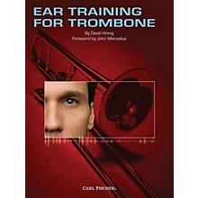 Carl Fischer Ear Training for Trombone Book