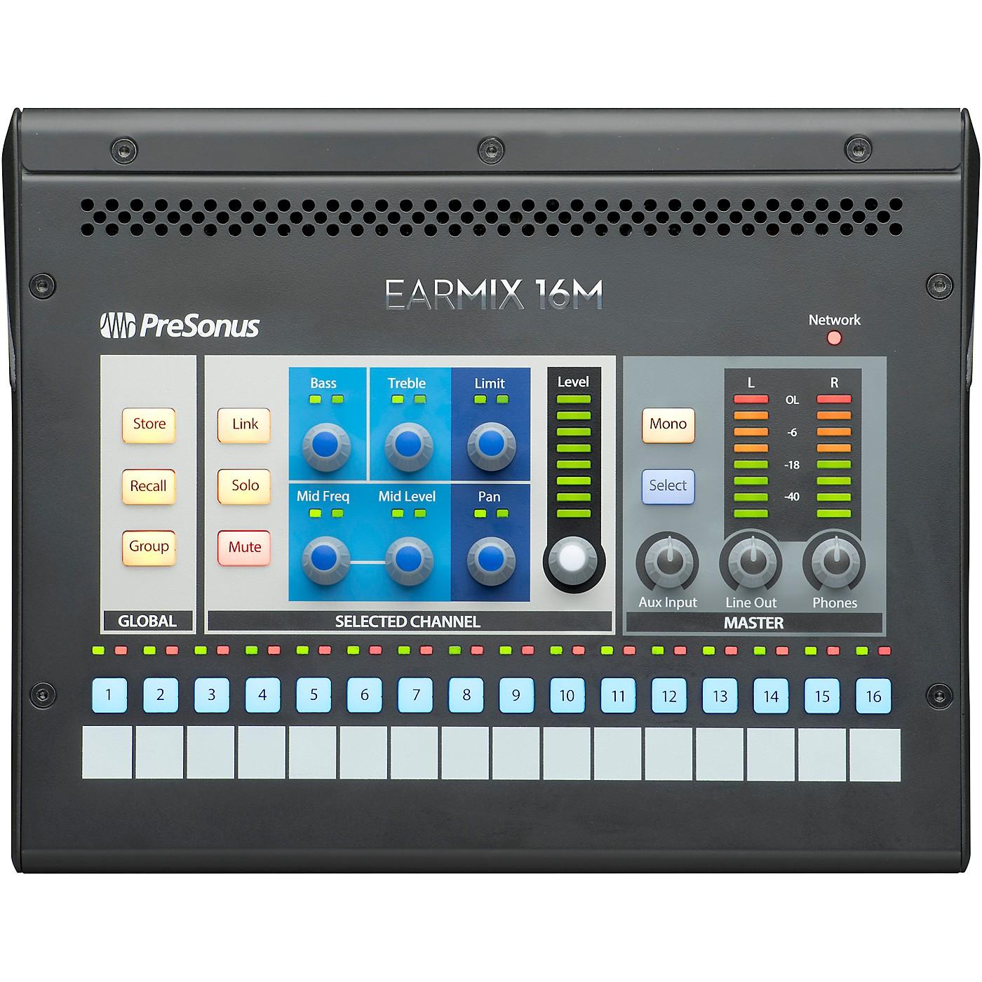 Presonus EarMix 16M 16-Channel Personal Monitor Mixer thumbnail