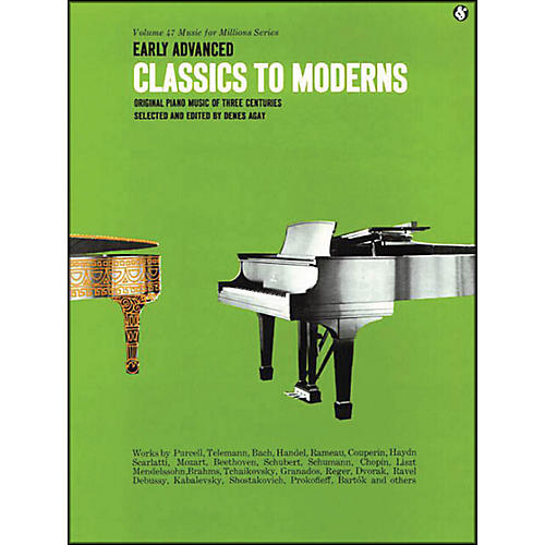 Music Sales Early Advanced Classics To Moderns By Denes Agay thumbnail
