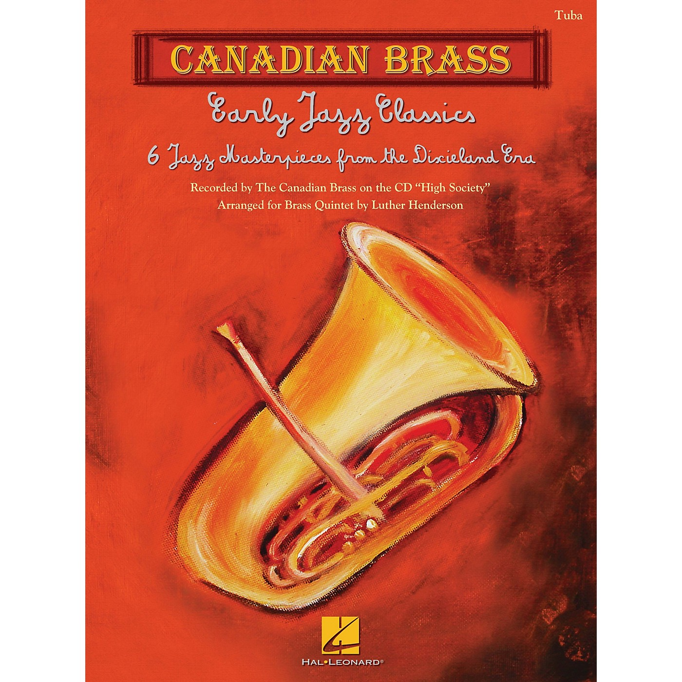 Canadian Brass Early Jazz Classics (Canadian Brass Quintets Tuba (B.C.)) Brass Ensemble Series by Luther Henderson thumbnail