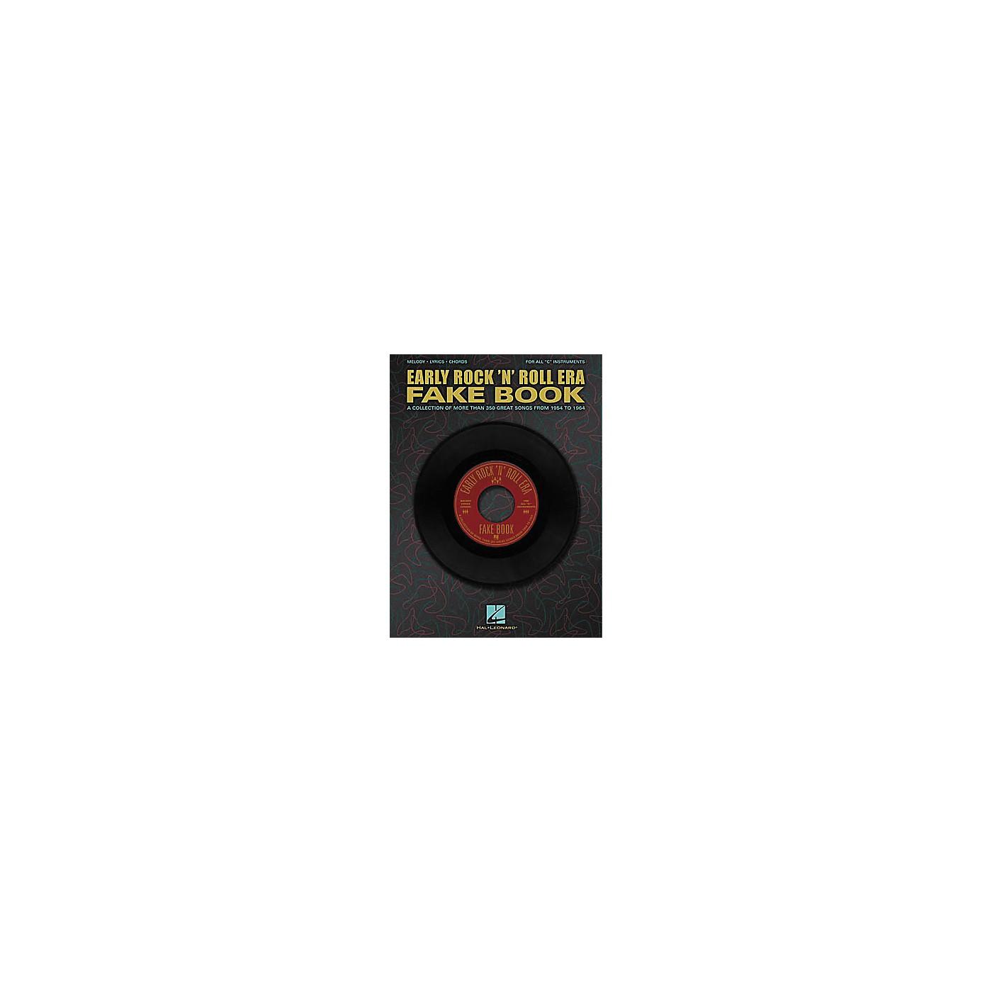 Hal Leonard Early Rock'n' Roll Era Fake Book thumbnail