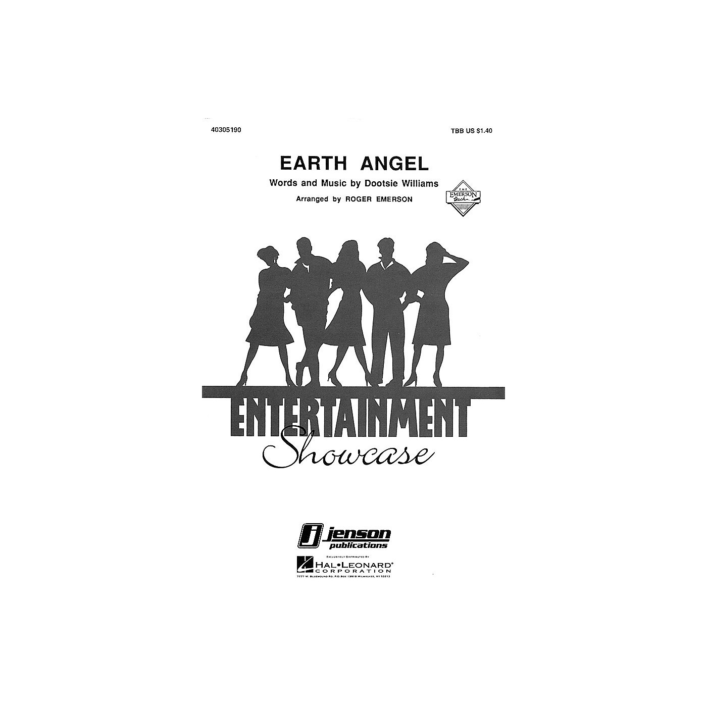 Hal Leonard Earth Angel TBB arranged by Roger Emerson thumbnail