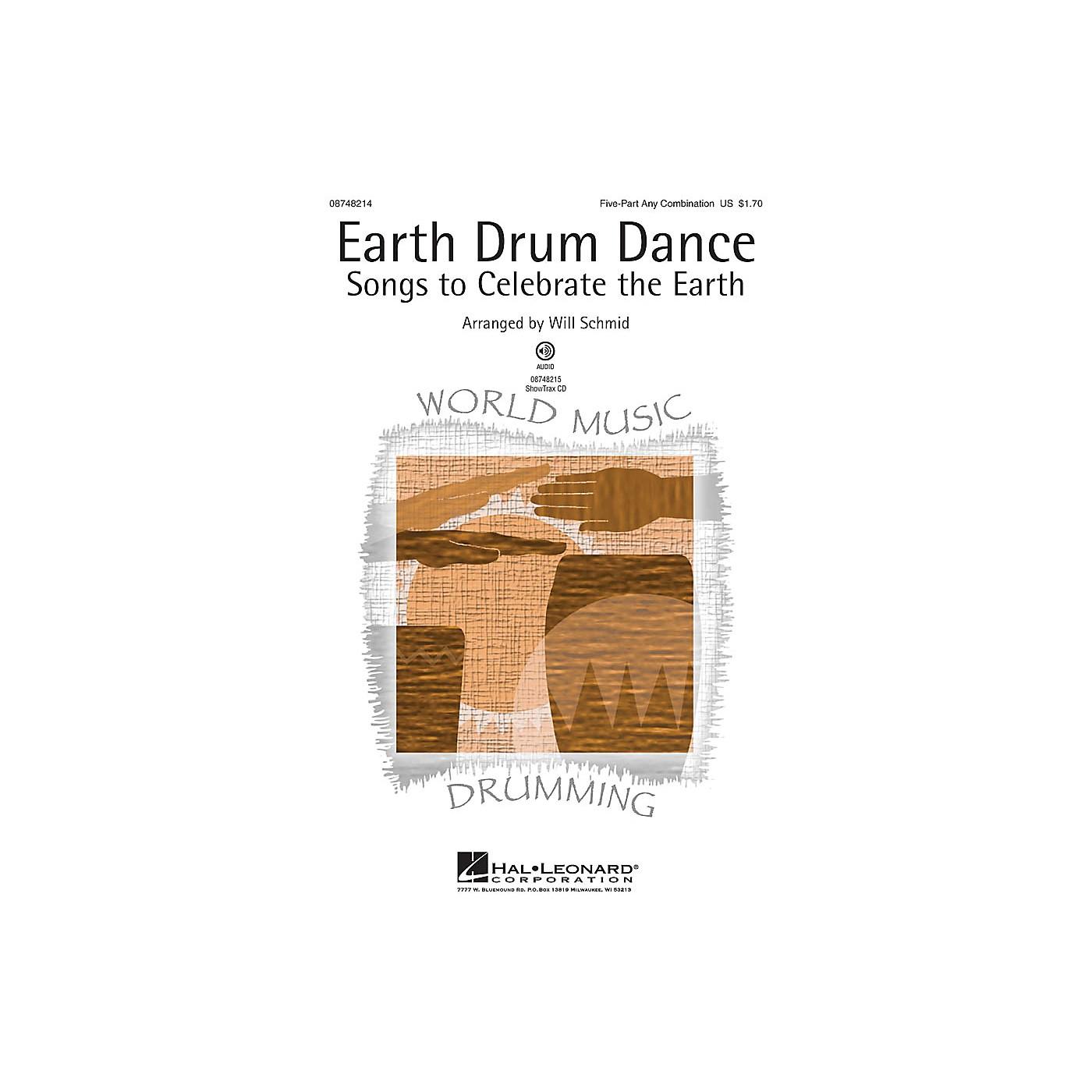 Hal Leonard Earth Drum Dance ShowTrax CD Arranged by Will Schmid thumbnail