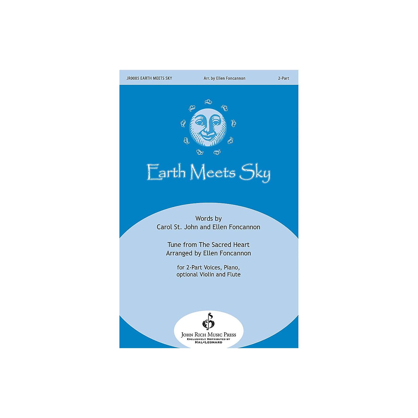 John Rich Music Press Earth Meets Sky 2-Part arranged by Ellen Foncannon thumbnail