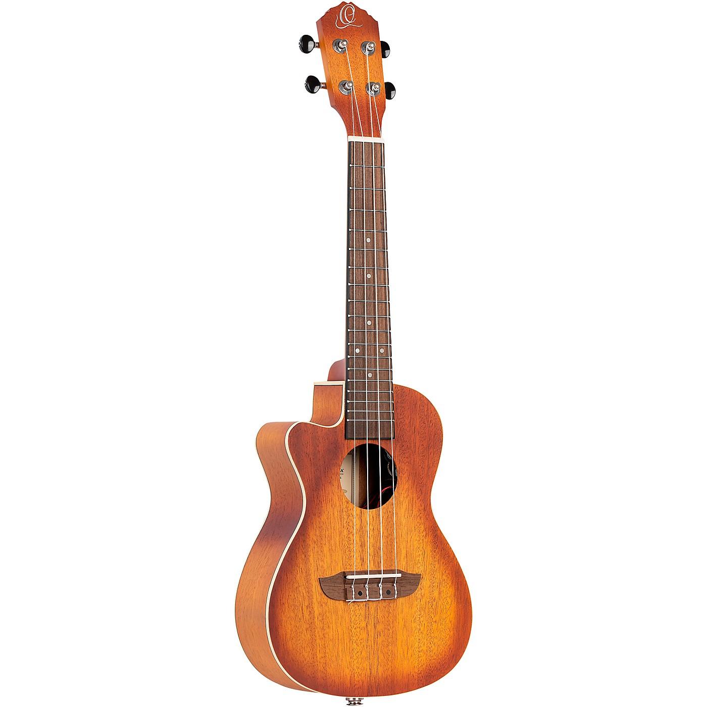 Ortega Earth Series RUDAWN-CE-L Left-Handed Acoustic Electric Concert Ukulele thumbnail