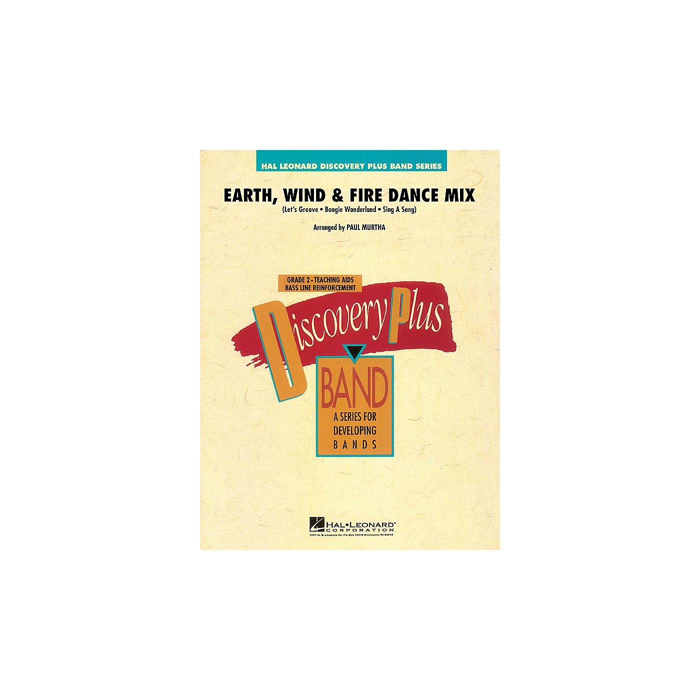 Hal Leonard Earth, Wind & Fire Dance Mix - Discovery Plus Band Level 2 arranged by Paul Murtha thumbnail
