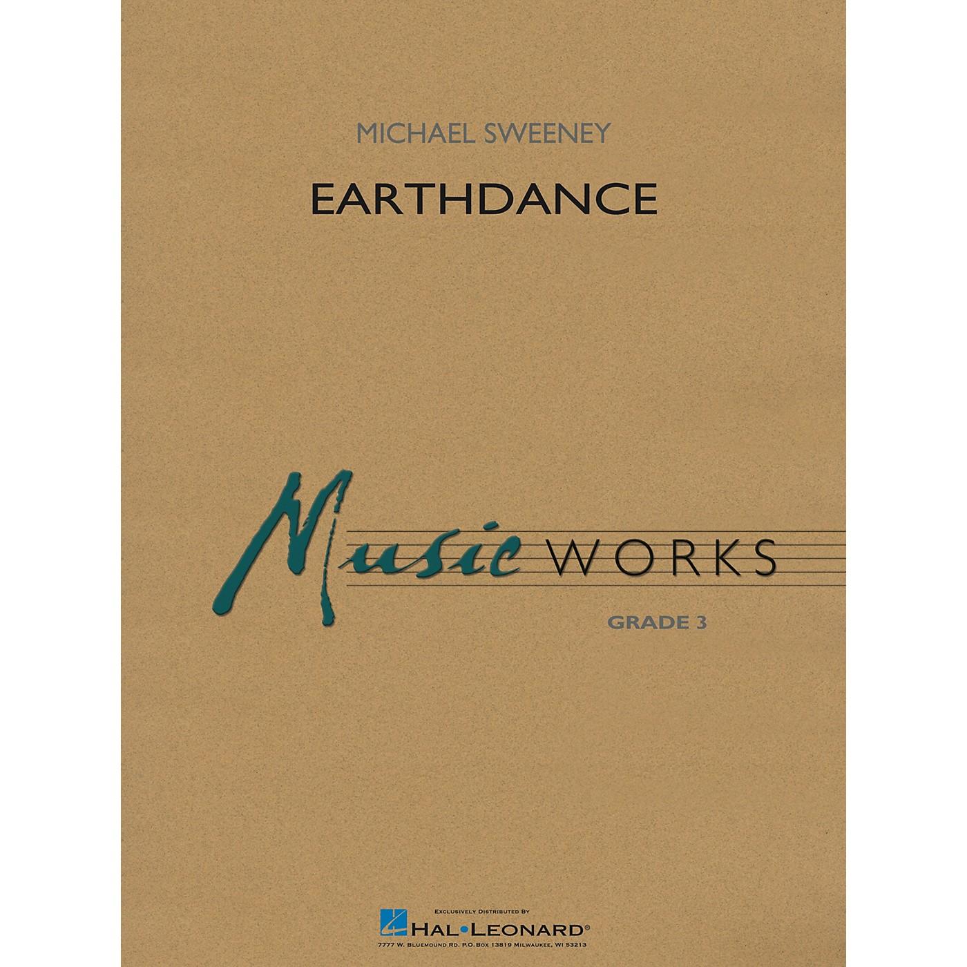 Hal Leonard Earthdance Concert Band Level 3 Composed by Michael Sweeney thumbnail