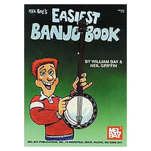 Mel Bay Easiest Banjo Book thumbnail