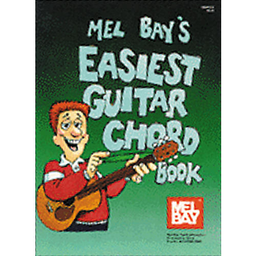 Mel Bay Easiest Guitar Chord Book thumbnail