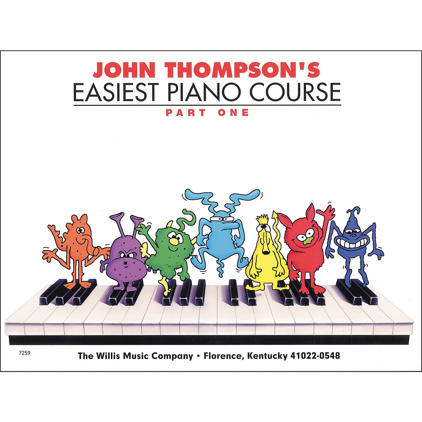 Hal Leonard Easiest Piano Course Part 1 Book thumbnail