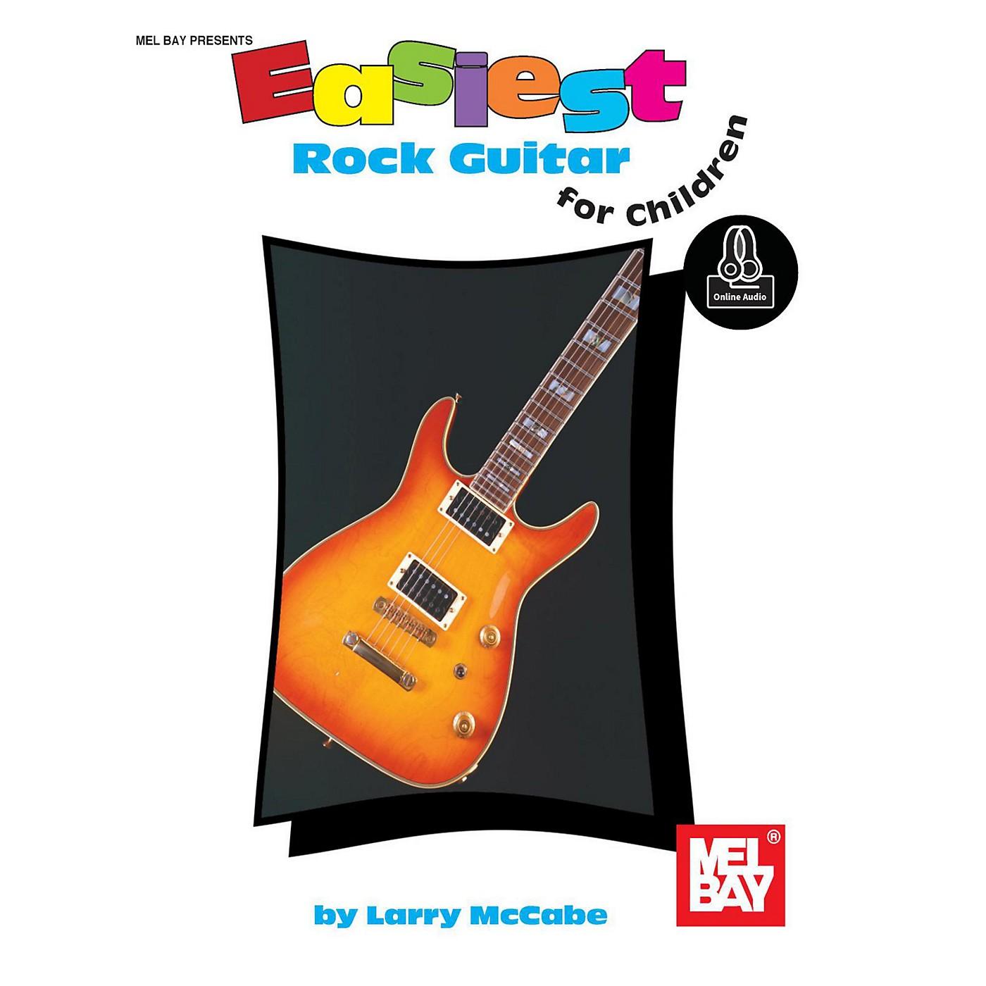 Mel Bay Easiest Rock Guitar for Children, Book plus Online Audio thumbnail