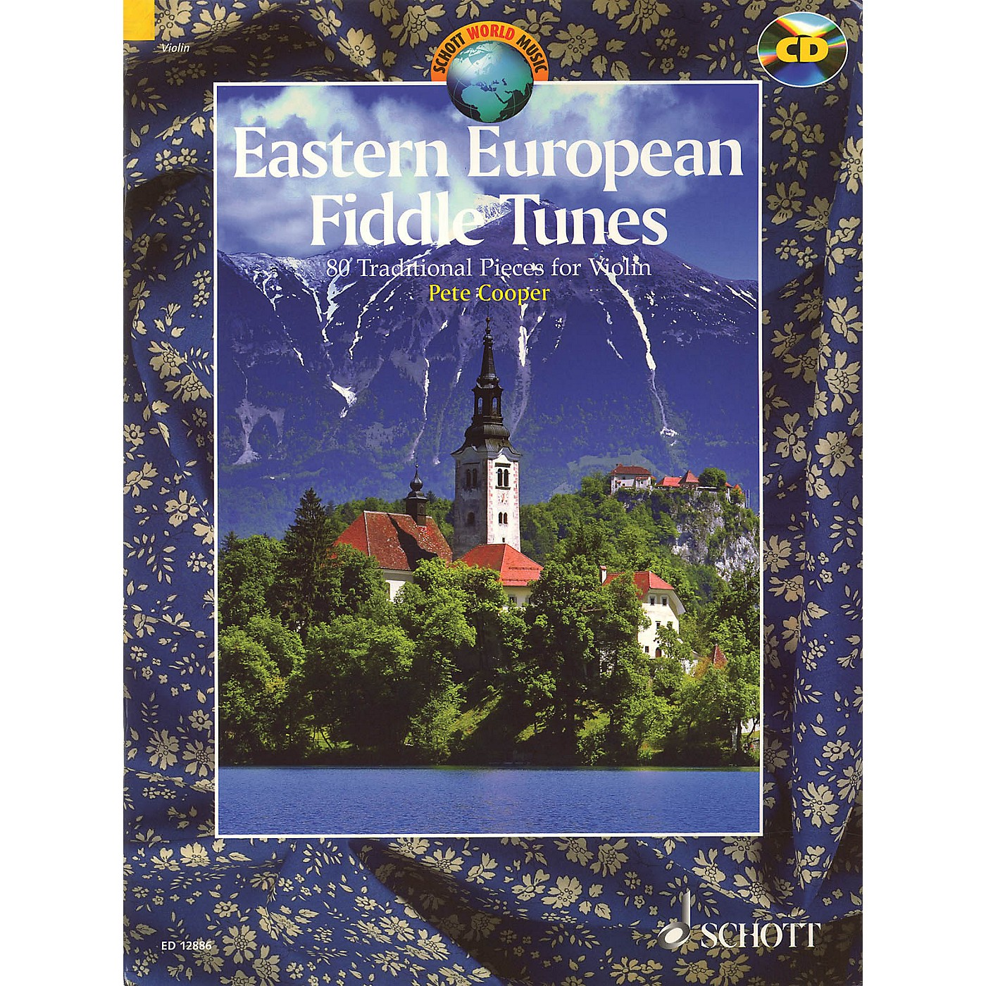 Schott Eastern European Fiddle Tunes (80 Traditional Pieces for Violin) String Series Softcover with CD thumbnail