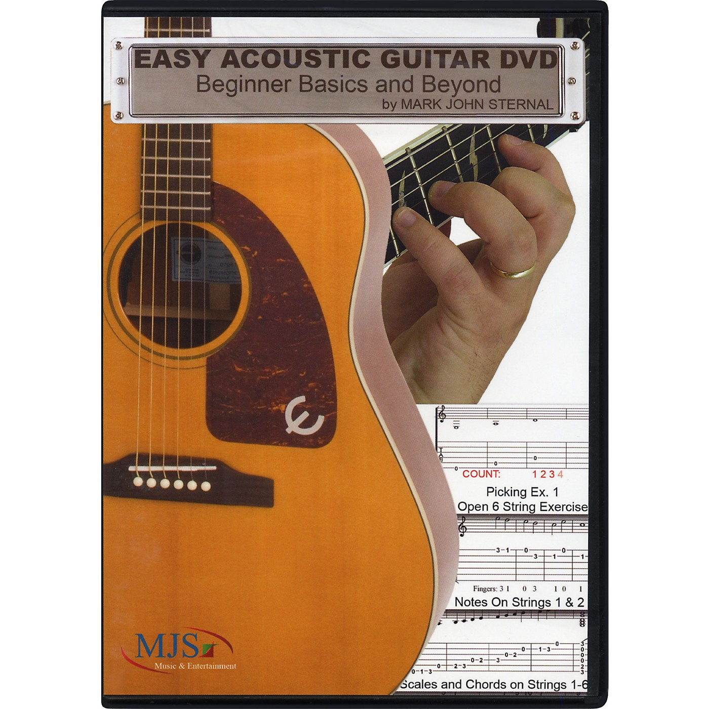 MJS Music Publications Easy Acoustic Guitar DVD: Beginner Basics and Beyond thumbnail