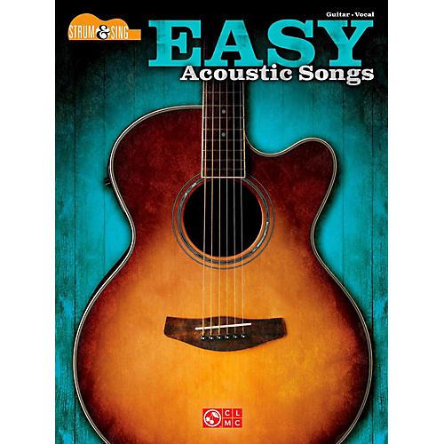 Hal Leonard Easy Acoustic Songs - Strum & Sing Guitar thumbnail