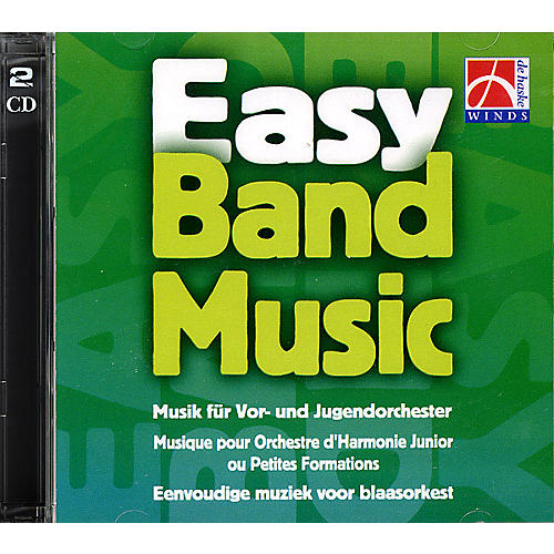 De Haske Music Easy Band Music (Brass Band CD) De Haske Brass Band CD Series CD  by Various thumbnail