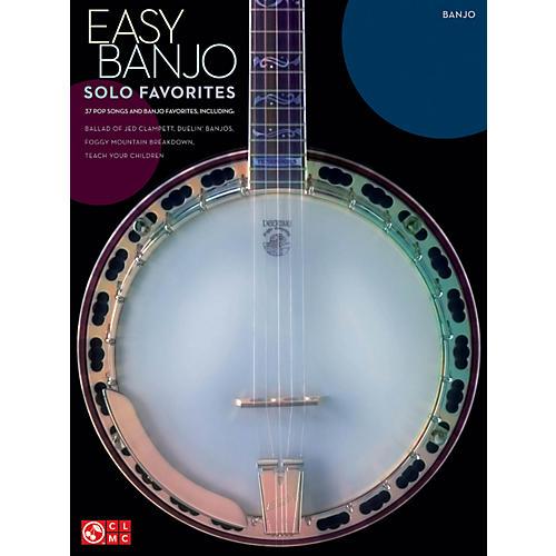 Hal Leonard Easy Banjo Solo Favorites banjo songbook thumbnail