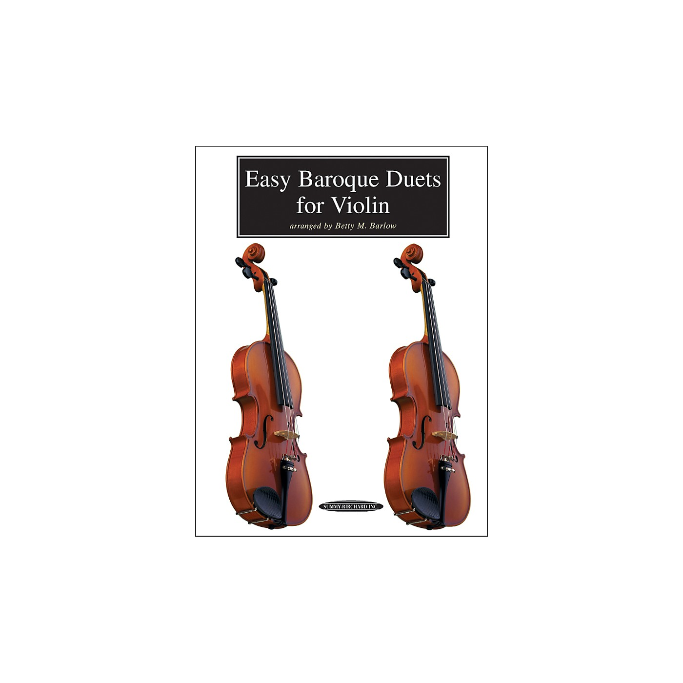 Alfred Easy Baroque Duets for Violin (Book) thumbnail