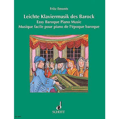 Schott Easy Baroque Piano Music Schott Series thumbnail