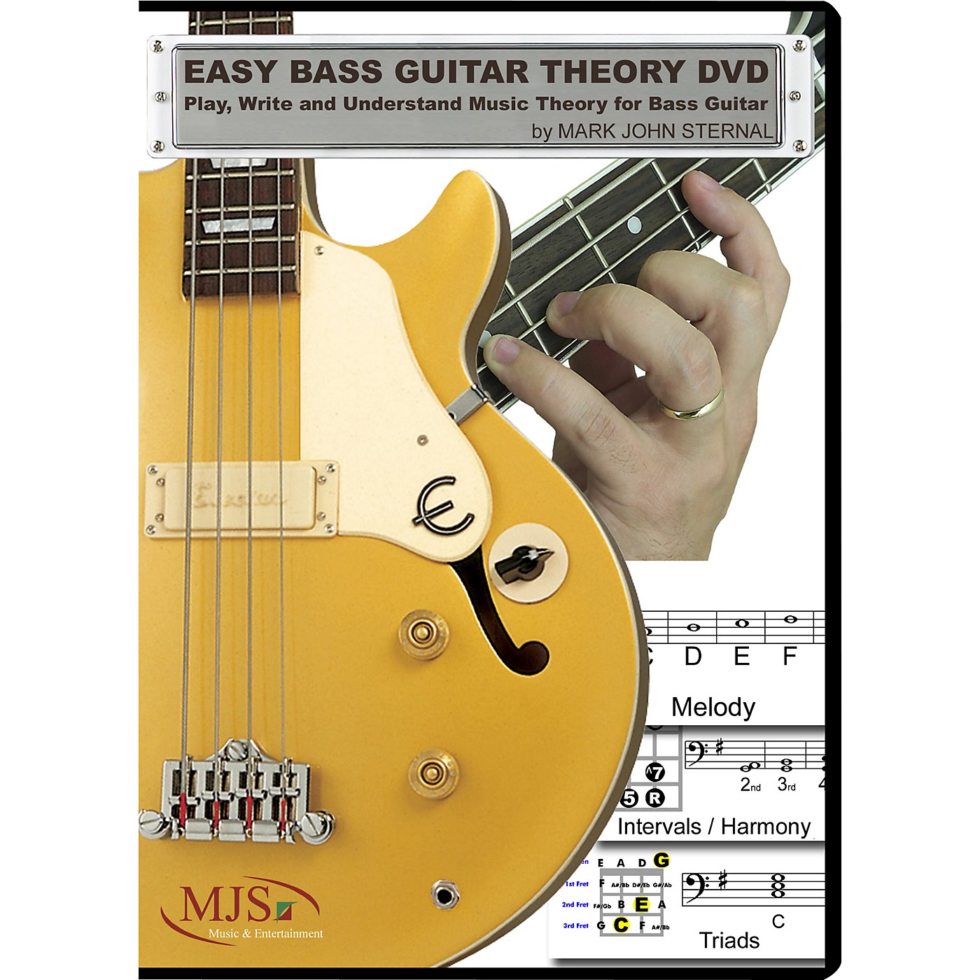 MJS Music Publications Easy Bass Guitar Theory (DVD) thumbnail