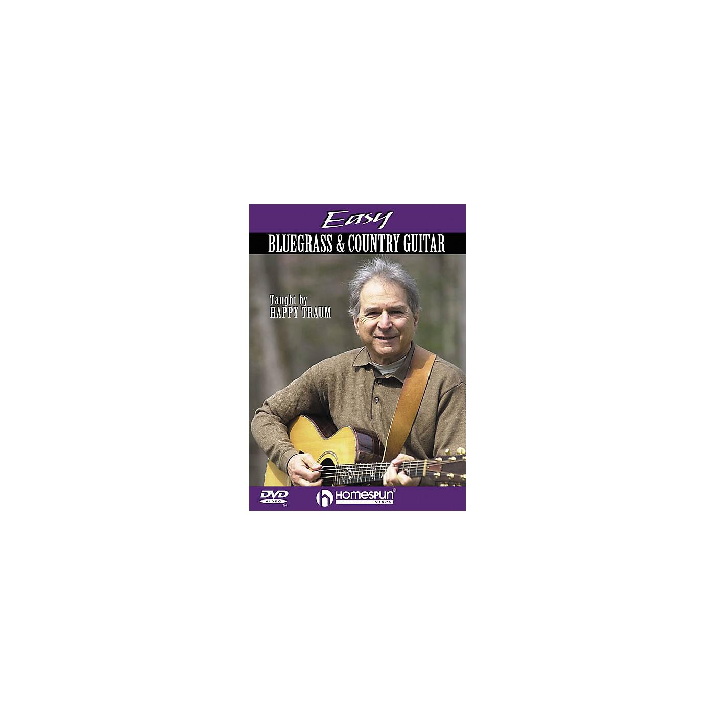 Homespun Easy Bluegrass and Country Guitar (DVD) thumbnail