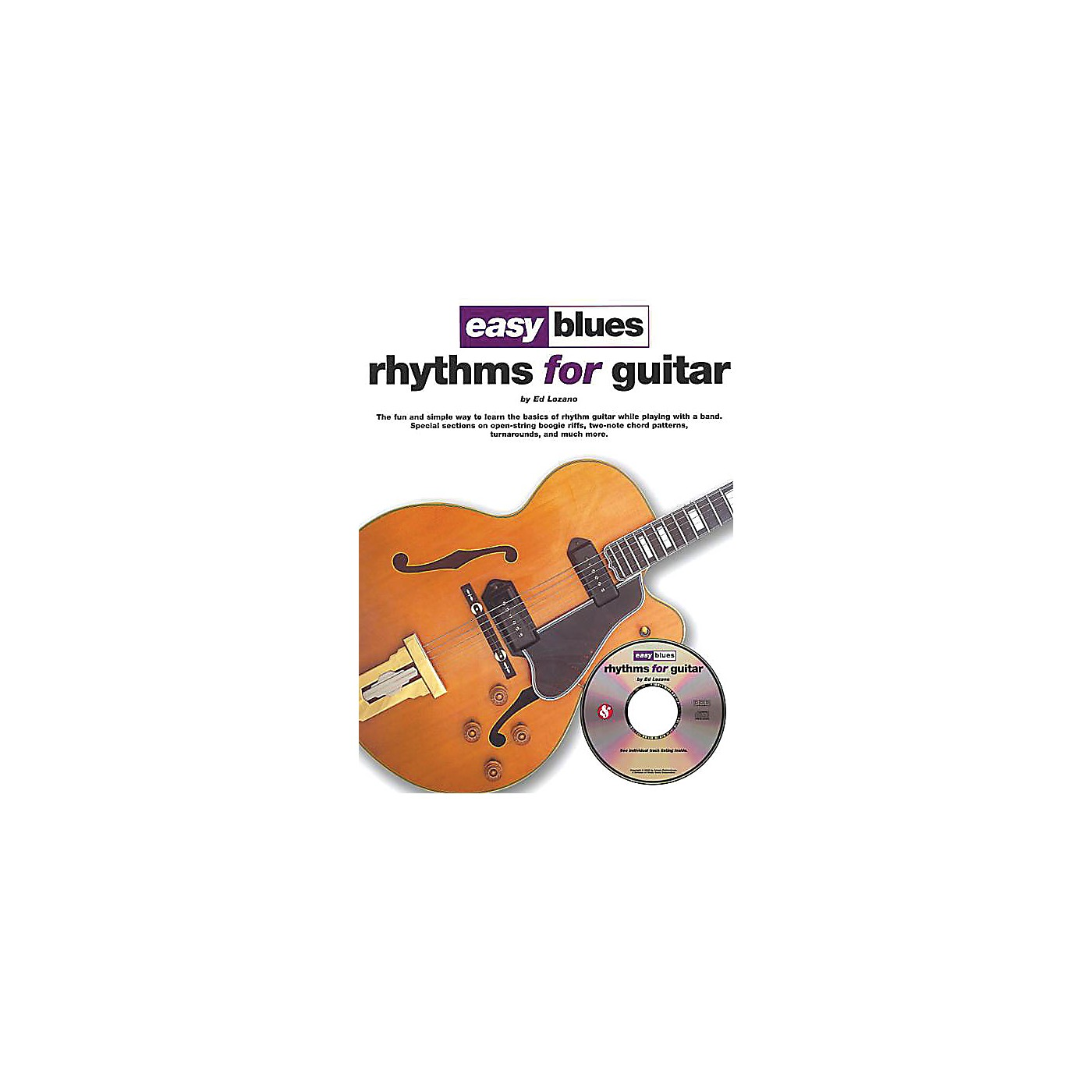 Music Sales Easy Blues Rhythms for Guitar Music Sales America Series Softcover with CD Written by Ed Lozano thumbnail