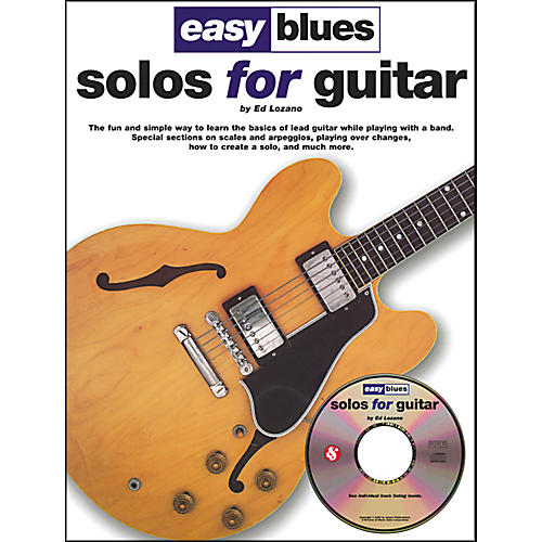 Music Sales Easy Blues Solos For Guitar Book/CD thumbnail