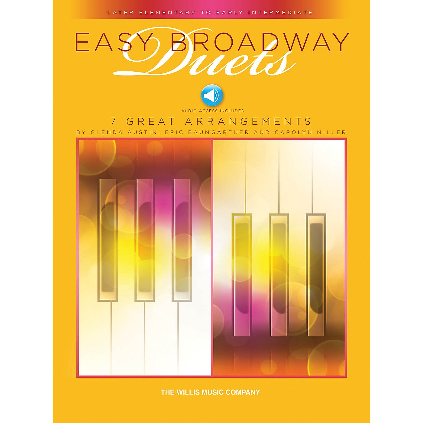 Willis Music Easy Broadway Duets Willis Series Book Audio Online by Various (Level Late Elem to Early Inter) thumbnail