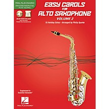 Hal Leonard Easy Carols for Alto Saxophone, Vol. 2 Instrumental Folio Series Book Media Online