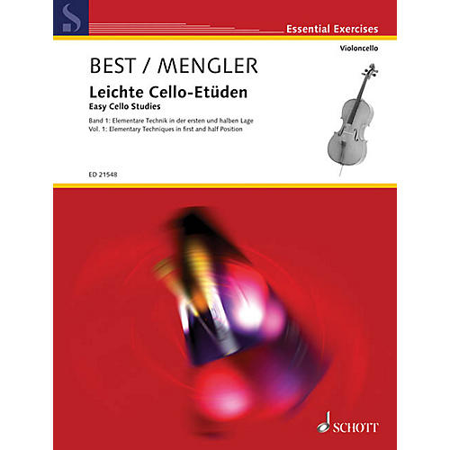 Schott Easy Cello Studies - Volume 1 (Elementary Techniques in First and Half Position) String Series Softcover thumbnail