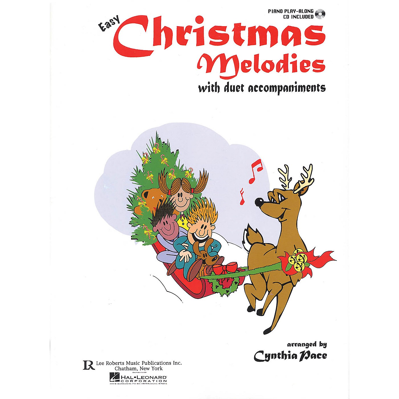 Lee Roberts Easy Christmas Melodies Piano (with Duet Accompaniments) Pace Piano Education Series Softcover with CD thumbnail