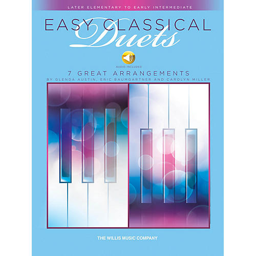 Willis Music Easy Classical Duets Willis Series Book Audio Online by Various (Level Late Elem to Early Inter) thumbnail