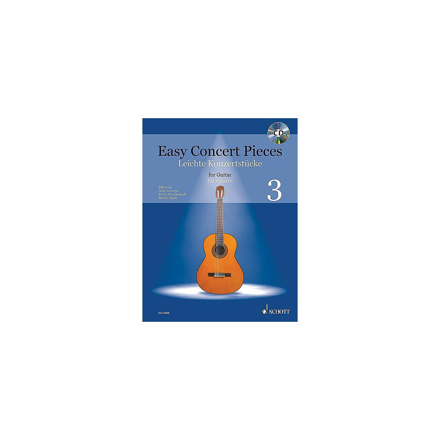 Schott Easy Concert Pieces for Guitar, Volume 3 Guitar Series Softcover with CD thumbnail