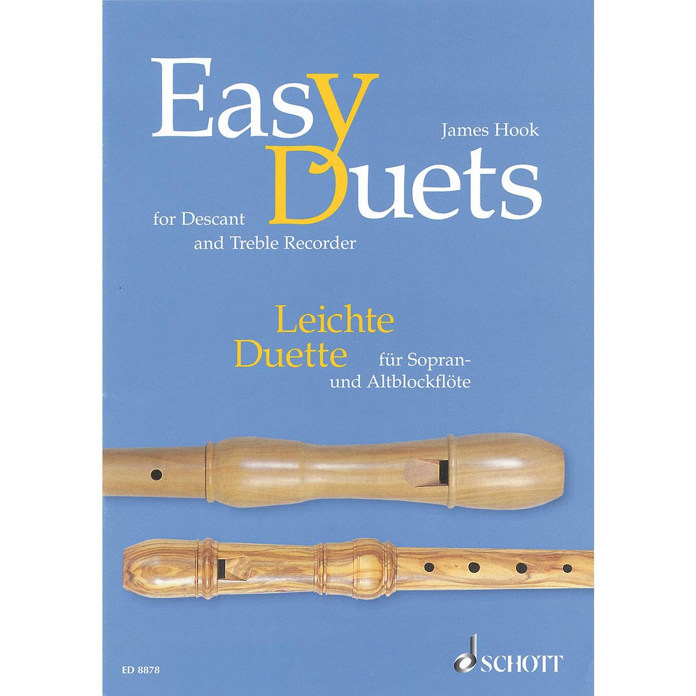 Schott Easy Duets Schott Series Softcover  by James Hook Arranged by Hans Magolt thumbnail