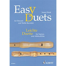 Schott Easy Duets Schott Series Softcover  by James Hook Arranged by Hans Magolt