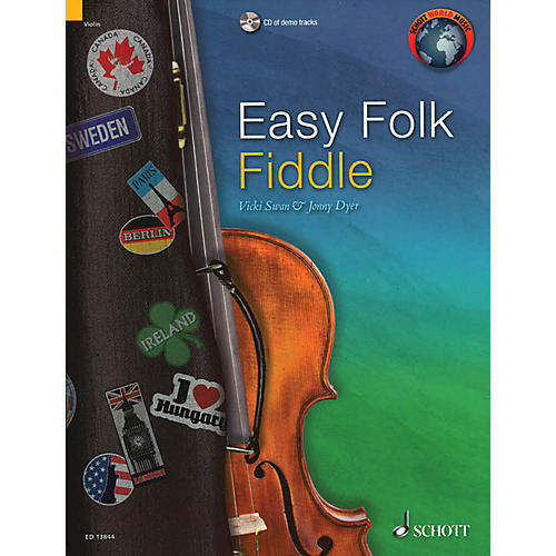 Schott Easy Folk Fiddle (52 Pieces) String Series Softcover with CD thumbnail